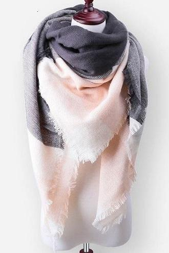 New Fashion Brand Winter Scarf For Women Scarf Large Luxury Women Scarf Warm Cashmere Shawls and Scarves