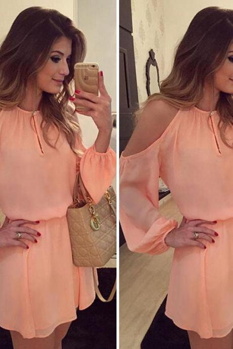 New Women Sexy Long Sleeve Mini Short Party Cocktail Evening Dress Club Dress